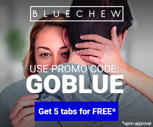 Coupon code for using bluechew order